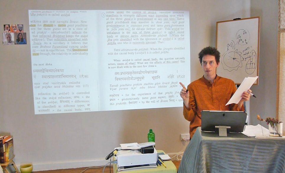 advaita vedanta, bhagavad gita & upanishads teacher