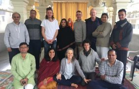 With Neema Majmudar in Rishikesh, India – Chandogya Upanisad