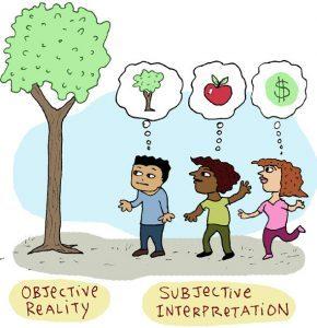 subjectivity objectivity in advaita vedanta