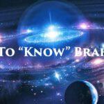 How to Know Brahman?