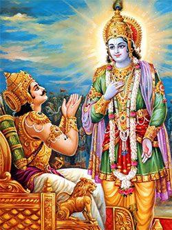 arjuna-humility-asks-help-krishna-teacher-bhagavad-gita-vedanta